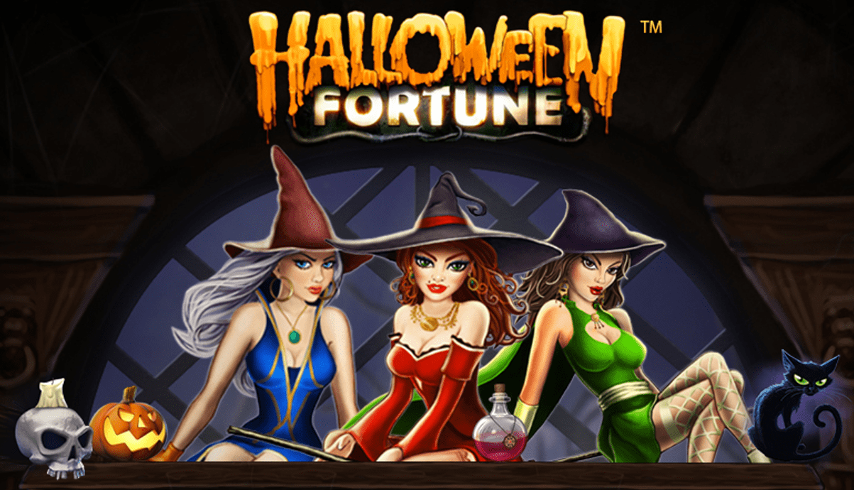 Halloween fortune online casino game cover picture